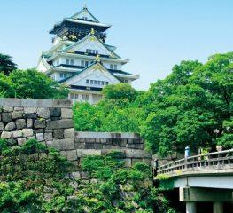 Tour travel Jepang ke Osaka Castle
