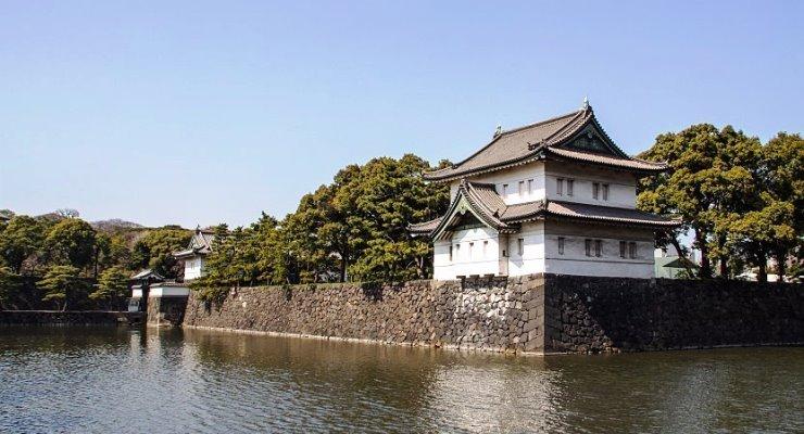Obyek wisata Tokyo, Imperial Palace di Kota Tokyo Jepang