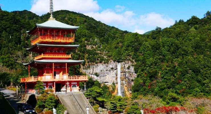 Pesona tour wisata keluarga ke Air Terjun Nachi Jepang